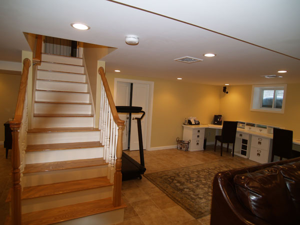 Wakefield Ma Basement Construction RemodelingCapozzi Construction Inc  Finished Basements Photo Gallery